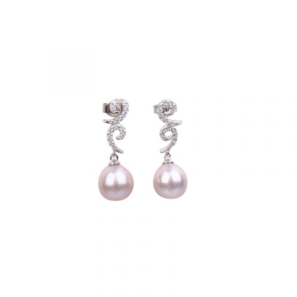 pearl stud earring from inspiring pearls