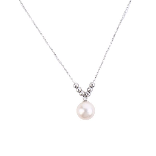 pearl pendant necklace inspiring pearls