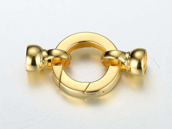 9ct yellow gold clasp inspiring pearls