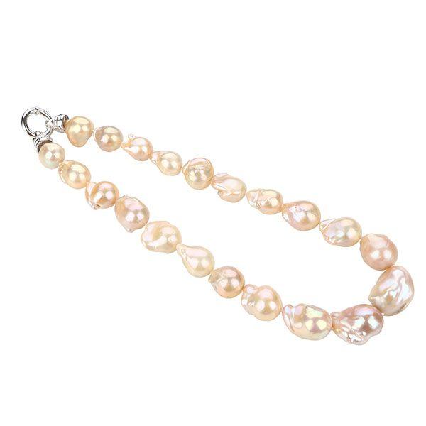 baroque freshwater pearl strand NLBM15792