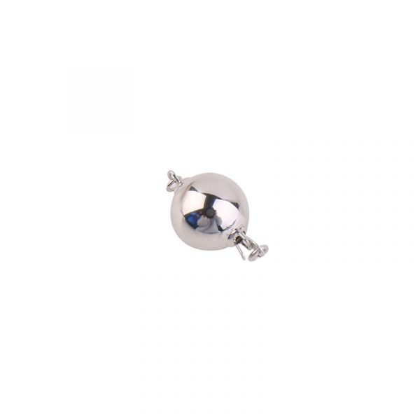 sterling silver ball clasp
