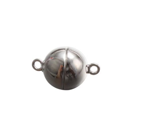 sterling silver magnetic ball clasp CLASP-MGB9