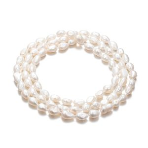 120 cm keshi pearl rope necklace nlbw10rope
