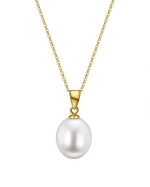 9K pearl pendent PDWD10YG35